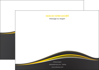 creer modele en ligne flyers web design gris gris fonce mat MIF71552