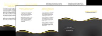maquette en ligne a personnaliser depliant 4 volets  8 pages  web design gris gris fonce mat MIF71562