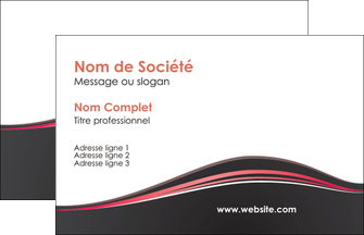 personnaliser maquette carte de visite web design gris gris fonce mat MLIG71570