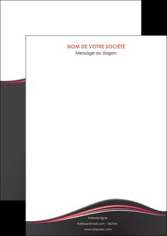 faire modele a imprimer flyers web design gris gris fonce mat MLIG71572