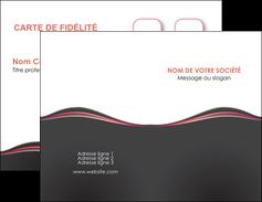 imprimerie carte de visite web design gris gris fonce mat MLGI71580