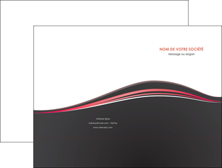 modele en ligne pochette a rabat web design gris gris fonce mat MIF71584