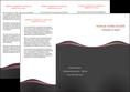 faire depliant 3 volets  6 pages  web design gris gris fonce mat MLGI71596