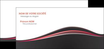 impression carte de correspondance web design gris gris fonce mat MLGI71608