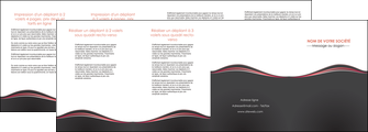 creation graphique en ligne depliant 4 volets  8 pages  web design gris gris fonce mat MLGI71614