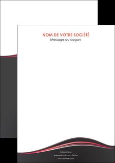 maquette en ligne a personnaliser flyers web design gris gris fonce mat MLIG71616