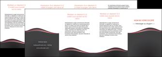 impression depliant 4 volets  8 pages  web design gris gris fonce mat MLGI71620