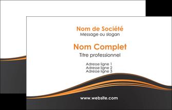 Commander carte de visite quadri recto pelliculage mat Web Design papier publicitaire et imprimerie Carte de Visite - Paysage