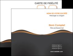 creer modele en ligne carte de visite web design noir fond noir couleur noir MIF71800