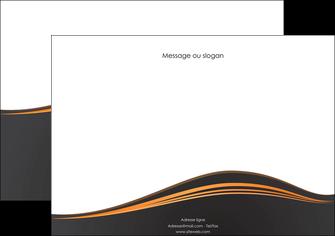 maquette en ligne a personnaliser affiche web design noir fond noir couleur noir MIF71812