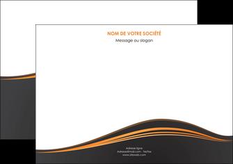 faire modele a imprimer flyers web design noir fond noir couleur noir MIF71824
