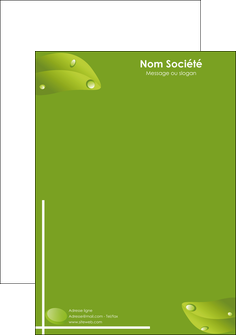 modele en ligne tete de lettre paysage vert nature fond vert MLIG7182