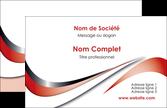 creer modele en ligne carte de visite web design rouge fond rouge couleur chaude MLGI72102