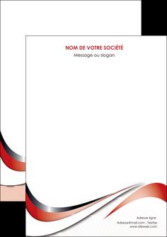 personnaliser modele de flyers web design rouge fond rouge couleur chaude MLGI72104