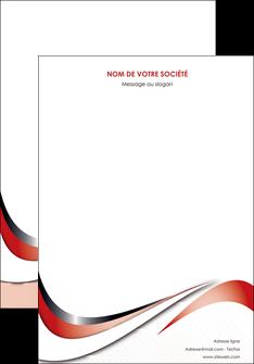 imprimer affiche web design rouge fond rouge couleur chaude MLGI72108