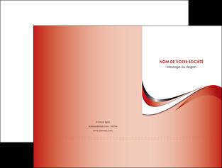 faire pochette a rabat web design rouge fond rouge couleur chaude MLGI72116
