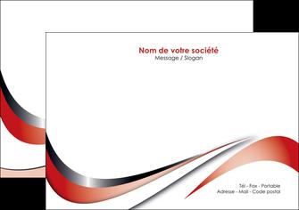modele flyers web design rouge fond rouge couleur chaude MLGI72126