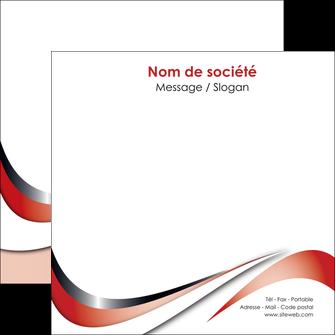 imprimer flyers web design rouge fond rouge couleur chaude MLGI72134