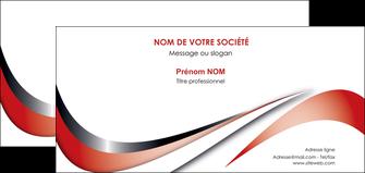 modele carte de correspondance web design rouge fond rouge couleur chaude MLGI72140