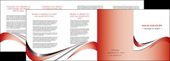 imprimerie depliant 4 volets  8 pages  web design rouge fond rouge couleur chaude MLGI72146