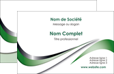 impression carte de visite web design fond vert abstrait abstraction MLGI72154