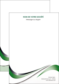 creer modele en ligne flyers web design fond vert abstrait abstraction MLGI72156