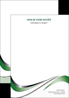 creer modele en ligne flyers web design fond vert abstrait abstraction MLGI72156