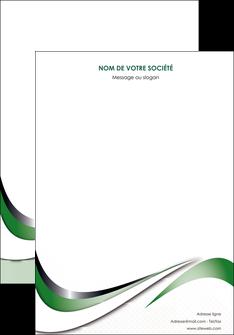personnaliser maquette affiche web design fond vert abstrait abstraction MLGI72160