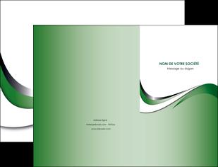 modele en ligne pochette a rabat web design fond vert abstrait abstraction MLGI72166