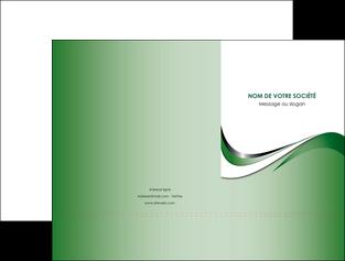 imprimer pochette a rabat web design fond vert abstrait abstraction MLGI72168