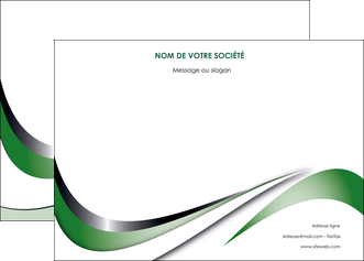 creation graphique en ligne affiche web design fond vert abstrait abstraction MLGI72174