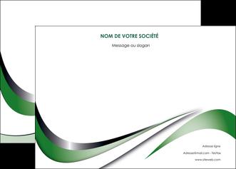 creation graphique en ligne affiche web design fond vert abstrait abstraction MLGI72174