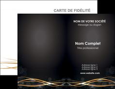 realiser carte de visite abstrait abstraction design MIF72216