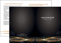 personnaliser modele de depliant 2 volets  4 pages  abstrait abstraction design MIF72246
