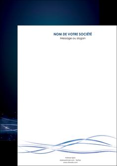 imprimerie affiche fond  bleu couleurs froides structure en bleu MIF72334