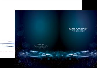 modele en ligne pochette a rabat fond  bleu couleurs froides structure en bleu MIF72344