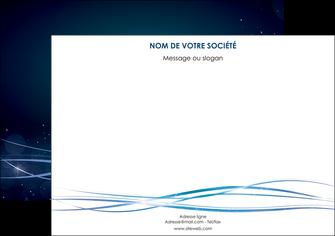 impression affiche fond  bleu couleurs froides structure en bleu MIF72352