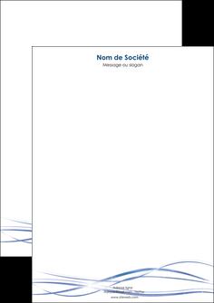 creation graphique en ligne tete de lettre fond  bleu couleurs froides structure en bleu MIF72364