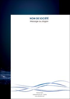 creation graphique en ligne affiche fond  bleu couleurs froides structure en bleu MIF72376