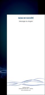 imprimer flyers fond  bleu couleurs froides structure en bleu MIF72382