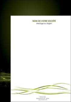 modele affiche fond vert structure en vert abstrait MIF72386