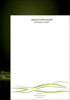 realiser affiche fond vert structure en vert abstrait MIF72388
