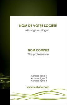 imprimerie carte de visite fond vert structure en vert abstrait MIF72394