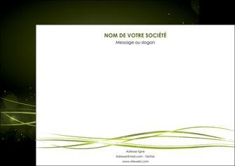 realiser affiche fond vert structure en vert abstrait MIF72402