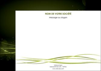 cree affiche fond vert structure en vert abstrait MIF72404