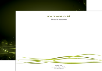 imprimerie affiche fond vert structure en vert abstrait MIF72406