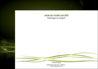 maquette en ligne a personnaliser affiche fond vert structure en vert abstrait MIF72408