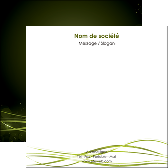 creer modele en ligne flyers fond vert structure en vert abstrait MIF72418