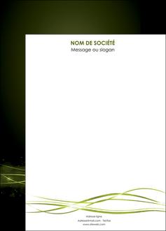 creation graphique en ligne affiche fond vert structure en vert abstrait MIF72428