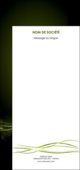 faire flyers fond vert structure en vert abstrait MIF72434